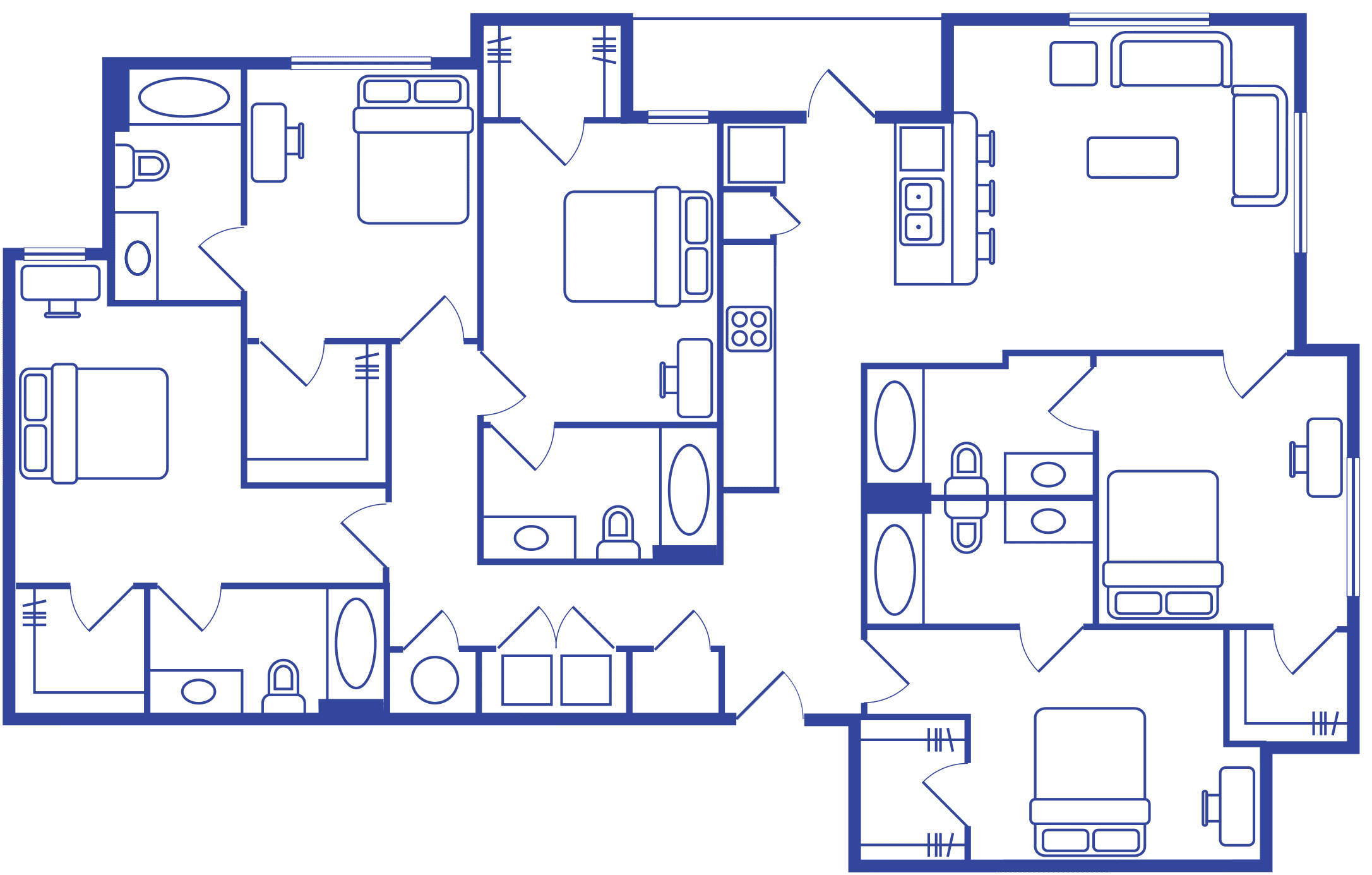 5 Bedroom 5 Bath Image